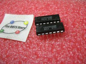 CD4025BE-RCA-IC-CMOS-Tripple-3-Input-NOR-Gate-CD4025-4025-Plastic-NOS-Qty-2
