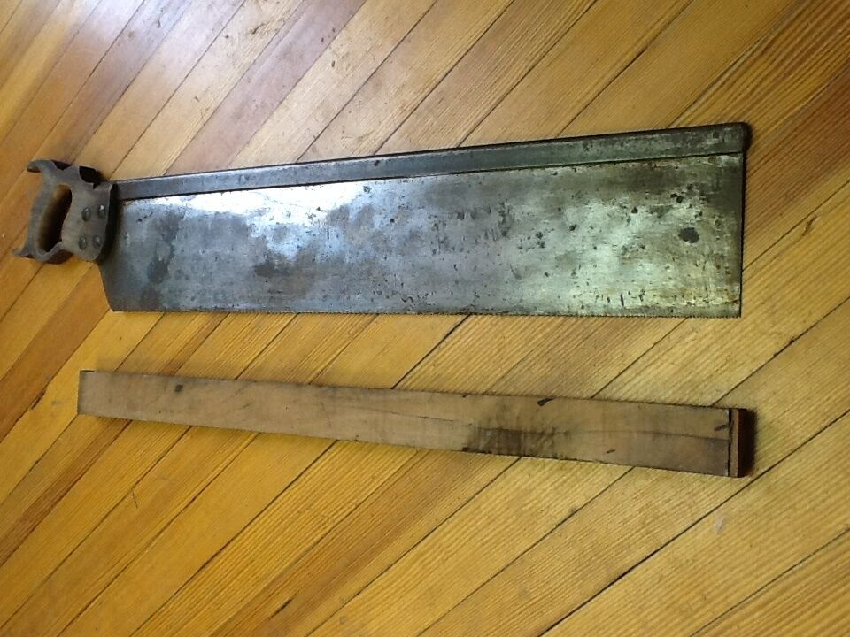 Antik 35 1.3cm Disston Säge -c. 1909