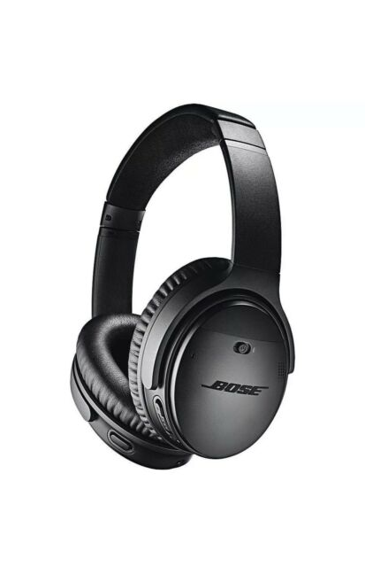 BOSE QuietComfort 2 QC35 Wireless Noise Cancelling Headphones Black 1-YR WARR.🎧