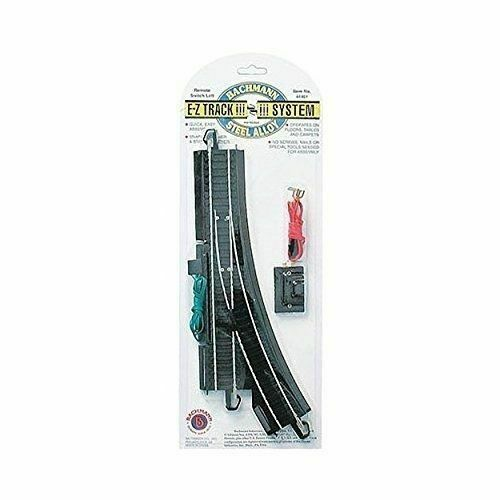 Left NIB 44461 NEW Track Bachmann HO On-30 Steel Remote Turnout