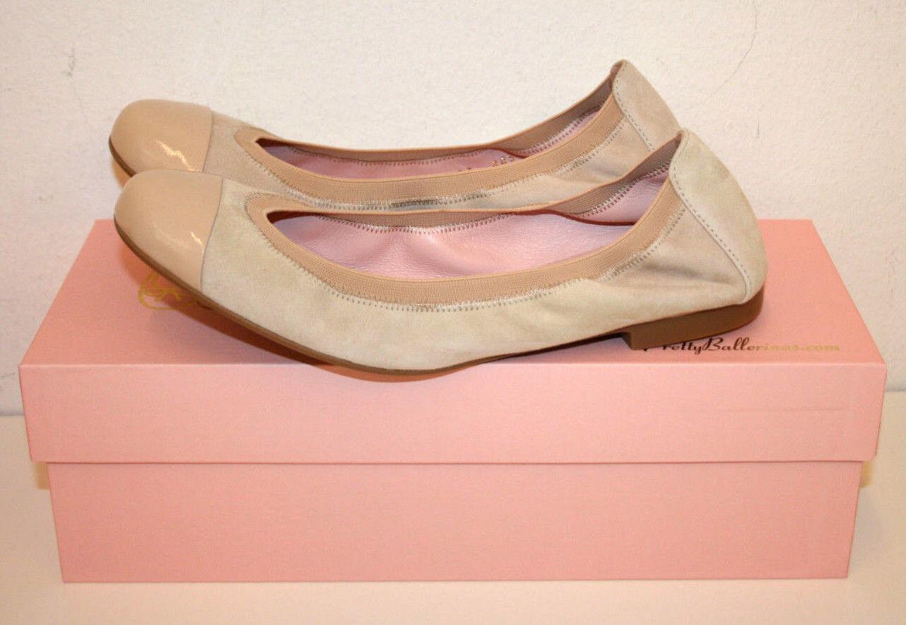 Pretty Ballerinas Ballerina Gr.41 Shade Macra Lack-Spitze
