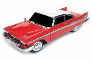 AUTO-WORLD-AWSS119-or-102-PLYMOUTH-FURY-Stephen-King-CHRISTINE-model-car-1-18th