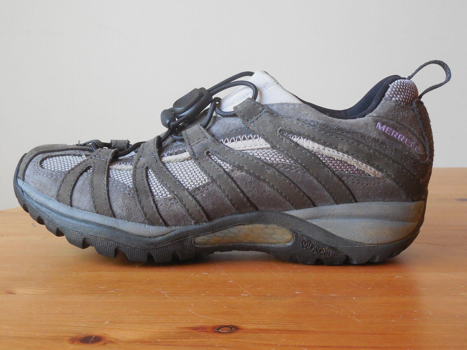 Merrell Slip On Trail Zapatos para mujer Talla 6.5 EE. EE. EE. UU. plantilla Ortholite Suela Vibram  mejor marca