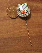 Volleyball 1975 mit Wappen alter Anhänger Pin Nadel Medaille Anstecknadel (M4)