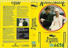 AGATHA CHRISTIE - FANTASMI IN AFFITTO (1982) vhs ex noleggio
