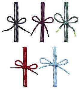 CHEX Laces Round Sports Hiking Shoe Boot Trainer 100cm 5mm Beautiful Two Colour