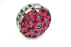 NEW-KBike-Factory-Ducati-Slipper-Clutch-With-Basket-Most-Dry-Clutch-Models-RED