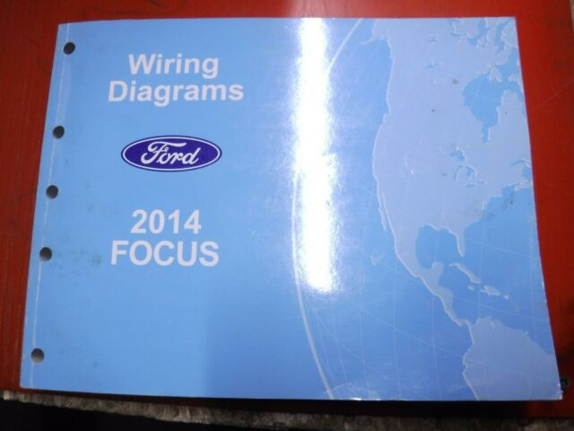 2014 Ford Focus Original Factory Wiring Diagrams Manual