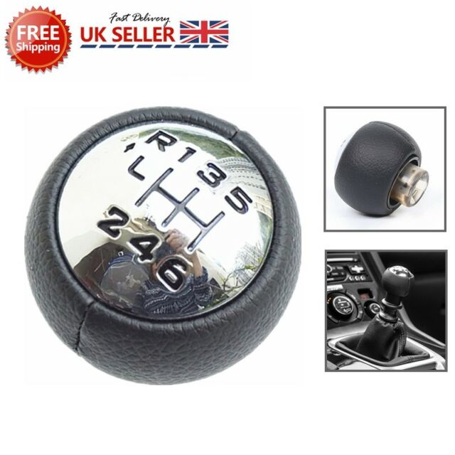 6 Speed Gear Stick Shift Knob or Peugeot 3008 407 5008 807 307 308 Citroen C4 C8