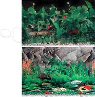 Tropical Planted Black/rock Crevice Wall 2 Scene 18-20h Aquarium Background
