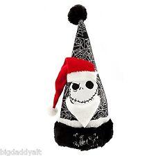 Disney Nightmare Before Christmas Jack Skellington Santa Hat | eBay