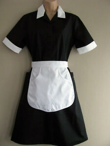 New Genuine Vintage Professional English Maid Uniform ...
