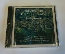 JONATHAN JONES - THE ORGAN IN THE AGE OF REASON CD ***SEALED***