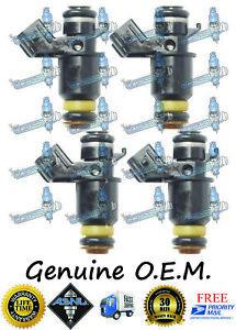 4x OEM Fuel Injectors for Honda Civic LX DX 1997
