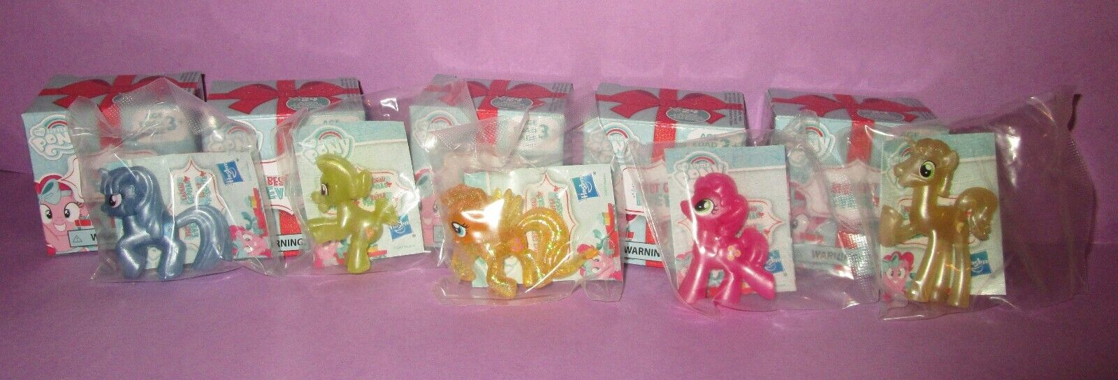 My Little Pony G4 Best Gift Ever Fluttershy Granny Trixie Flim Blind Bag Lot