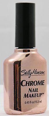 LOT OF 36 SALLY HANSEN CHROME NAIL POLISH - 9 COLORS , 4 PIECES EACH