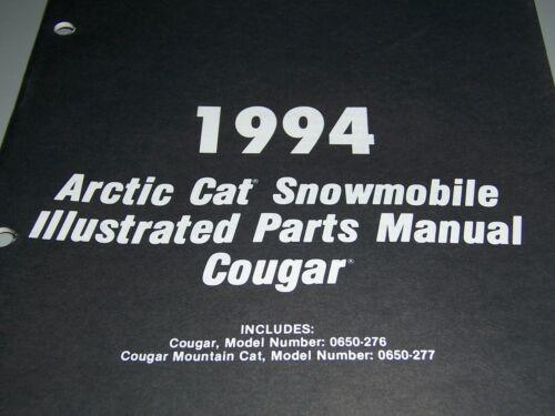 1994 Arctic Cat manuais de Peças de motoneve Ilustrado-selecionar Modelo Da Lista