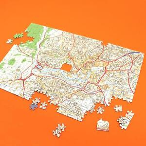 Personalised Streetview Map Jigsaw Puzzle (400 pieces) - Gift