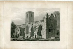St-Peter-Church-From-The-S-E-Engraved-By-J-Le-Keux-On-Large-Of-F-Mackenzie