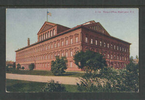 1910s-NATIONAL-MUSEUM-WASHINGTON-DC-POSTCARD-Z-113