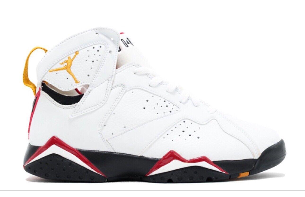 Nike air 7 jordan 7 air retrò, bianco / nero / rosso cardinale, 2006, numero 13 ddba5d