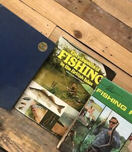 Vintage 1970's Encyclopedia of FISHING IN THE BRITISH ISLES, World of Angling +