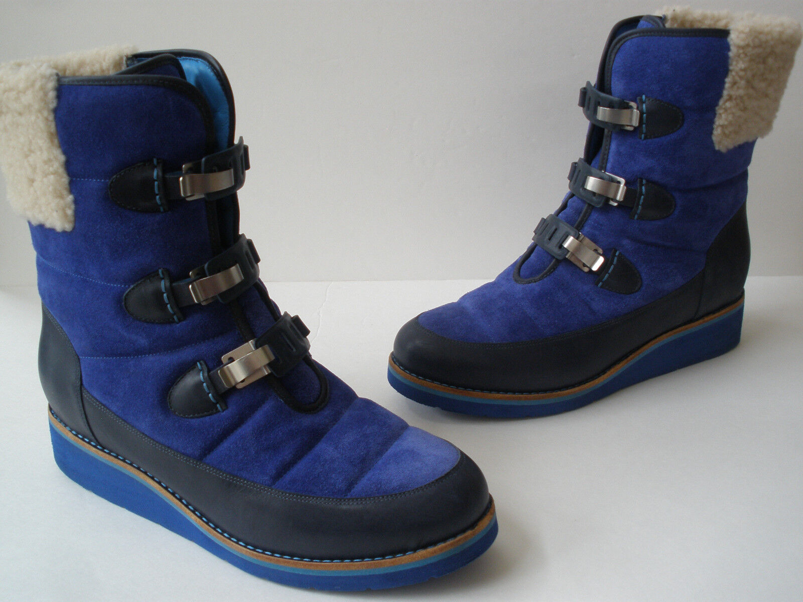 COLE HAAN NIKE AIR LEATHER WATERPROOF SNOW BOOTS SIZE US 10 SUPER HOT UNIQUE
