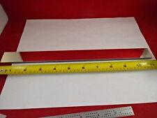 Large Long Optical Flat Mirror Glass Laser Optics As Is 80 26