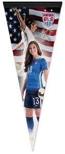 Team USA Women's Soccer ALEX MORGAN Official Premium Felt Collector's PENNANT