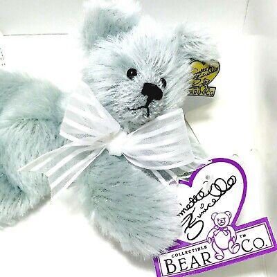 "9/"" Plush Bear /""Beary Sorbet/"" w//COA /& Tags New Vintage Annette Funicello Bear Co"
