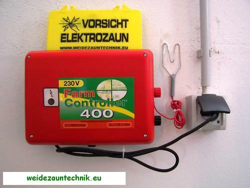 230 V Electric Fence Network Fence Grazing Unit