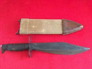 Ww1 U S Army Aef Bolo Knife Dated 1918 Plumb With 1917