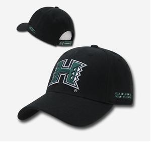 University of Hawaii Rainbow Warriors NCAA Low Crown Curved Baseball Cap Hat