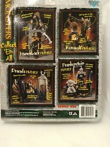 Todd-Mcfarlane-Monsters-series-1-1997-complete-set-of-4-Monster-Toys-NIB