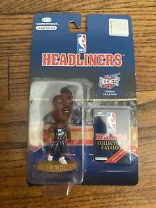 Hakeem Olajuwon NBA HEADLINERS Houston Rockets  ACTION FIGURE  1996  NIP