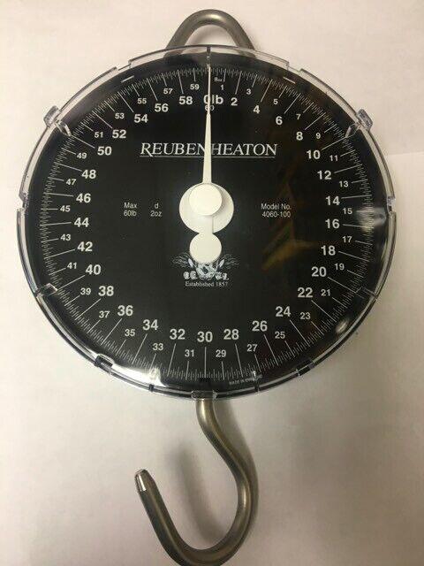 Reuben Heaton NEW Specimen Hunter Fishing Scales 60lb by 1oz *Classic*
