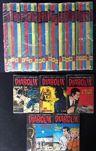 DIABOLIK-anno-VII-7-da-1-a-26-ASTORINA-ANNO-1968-DOT