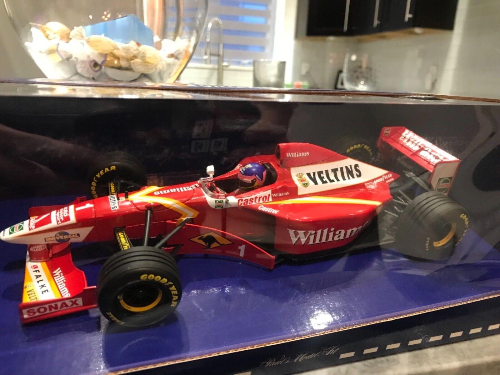 1/18 Minichamps Williams Mecachrome 2018 versión Jacques Villeneuve Nuevo Lanzamiento