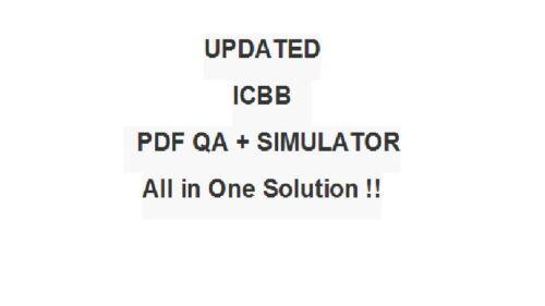 IASSC Certified Lean Six Sigma Black Belt Belts Test ICBB Exam QA PDF/&Simulator