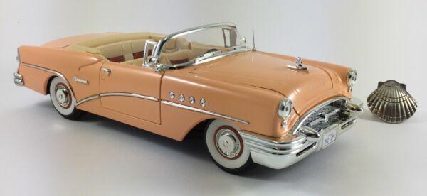 1/18 Solido Cabrio Buick Century 1955 Con Blister & Fascicolo