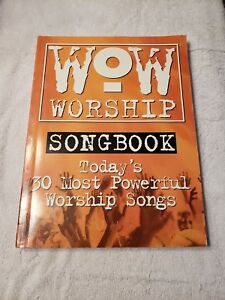 Details about Wow Worship Songbook Sheet Music 30 Most Powerful Worship  Songs (2000)