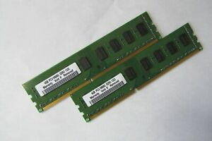 New-8GB-2x-4GB-DDR3-1333MHz-PC3-10600-DESKTOP-Non-ECC-Memory-module