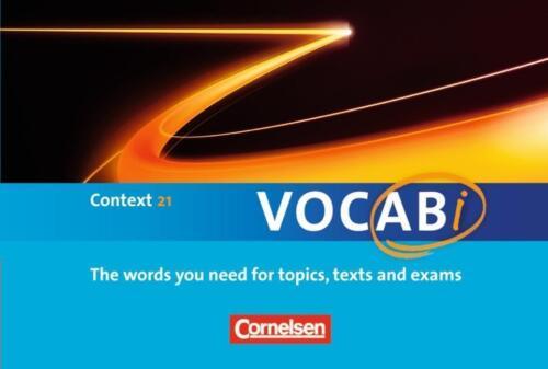 1 von 1 - VOCABi  Context 21 Cornelsen