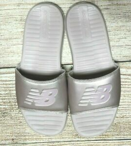 Women-039-s-NEW-BALANCE-Rose-Gold-Slides-Size-AU-9-Eur-40-rrp-40-shoes