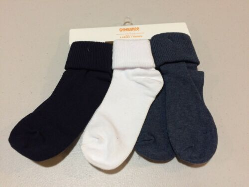 NWT Gymboree Boy Socks 3 pair pack Foldover S,M,L