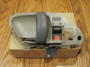Chevy Silverado Interior Door Handle Tan Left 95 1996 1997 1998 1999