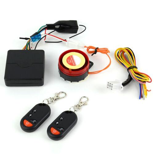 Motorcycle Motorbike Security Alarm System Immobiliser Remote Control Start