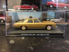 James Bond Car Collection No124 Chevrolet Bel Air 1/43 Mint