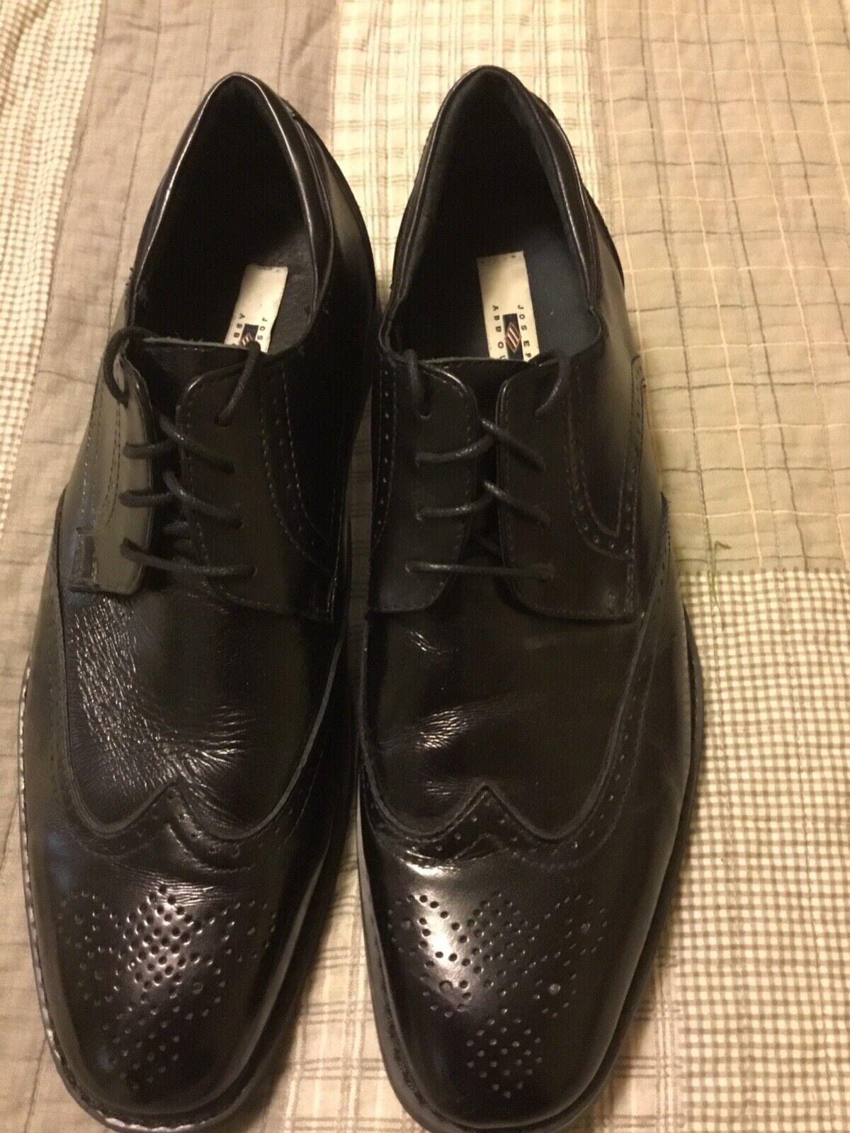 Joesph Abboud Men's Wingtips black Size 10.5