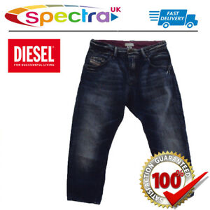 9f7bf929ce6 Diesel Women s Roquest Capri (3 4) Denim Pants Jeans - Navy Blue ...